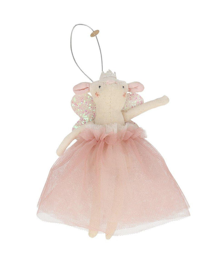 Little meri meri room pink fairy mouse tree decoration