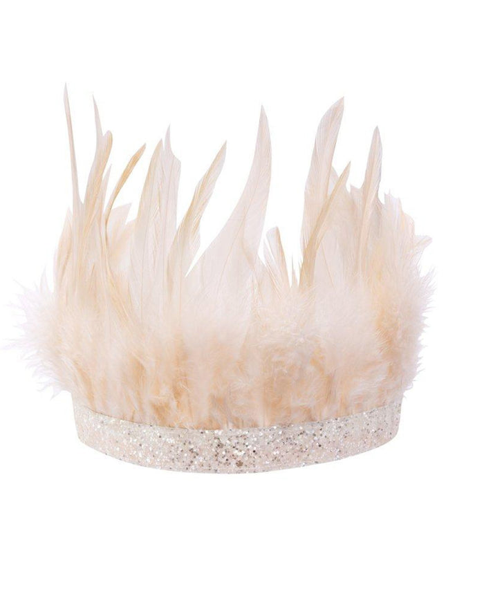 Little meri meri play pink feather party crown