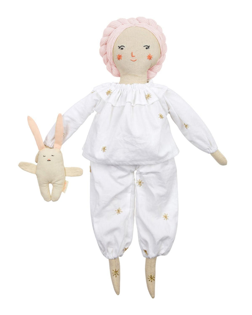 Little meri meri play pjs + bunny doll dress-up kit