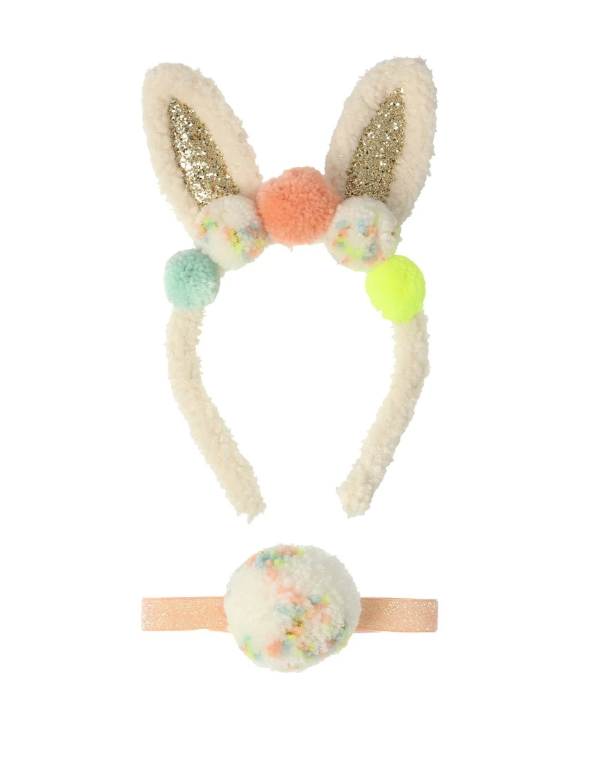 Little meri meri play pompom bunny ear dress up kit