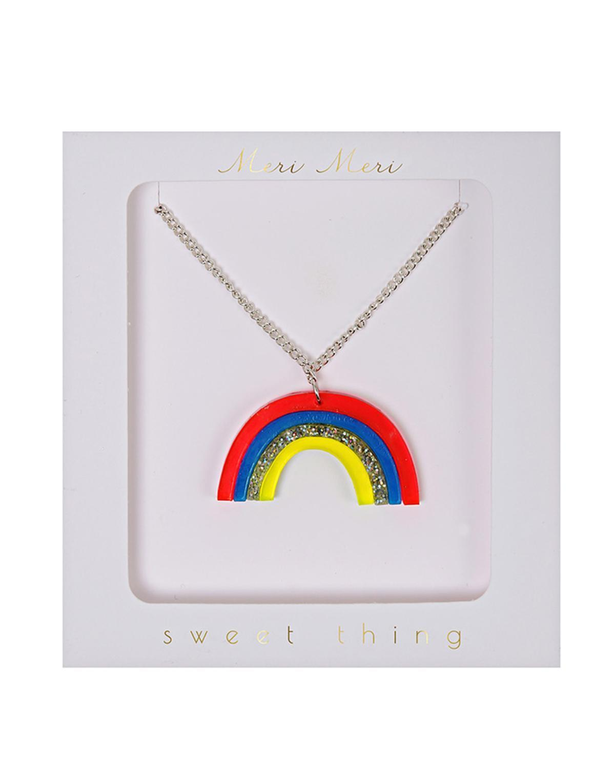 Little meri meri accessories Rainbow Necklace