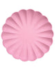 Little meri meri paper+party simply eco large plates in coral
