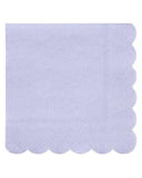 Little meri meri paper+party simply eco small napkins in blue