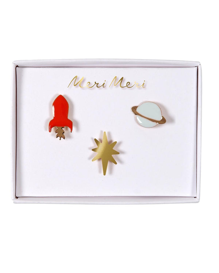 Little meri meri accessories Space Pins