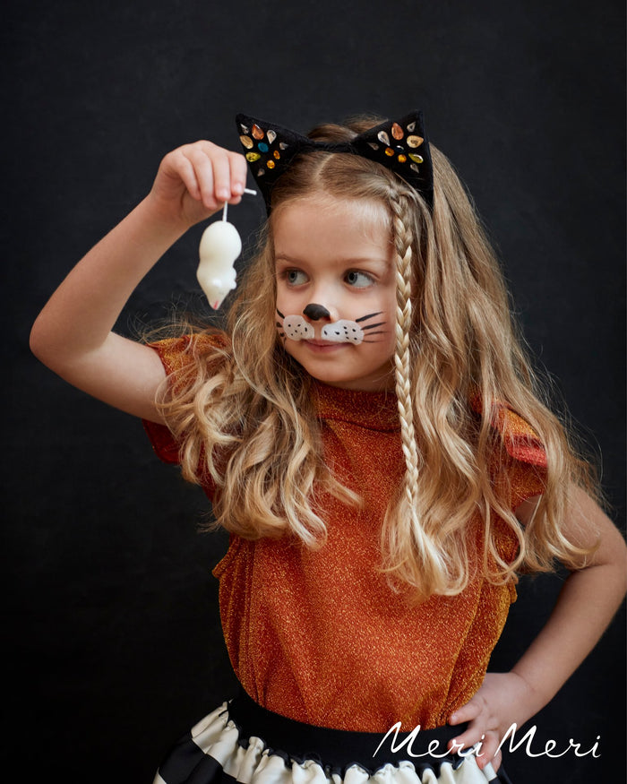 Little meri meri play sparkle cat ear headband