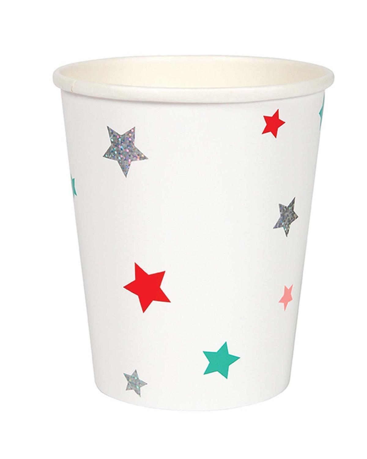 Little meri meri paper+party Star Cups