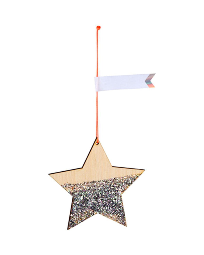 Little meri meri paper+party star gift tags