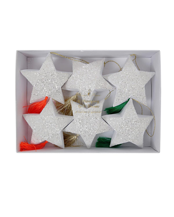 Little meri meri paper+party Star Hanging Gift Boxes