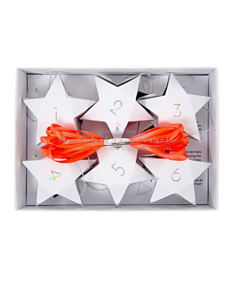 Little meri meri room Stars Advent Calendar in Iridescent