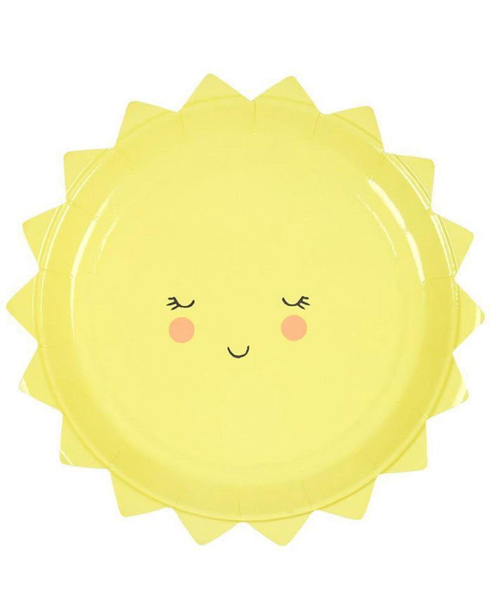 Little meri meri paper+party sun plate