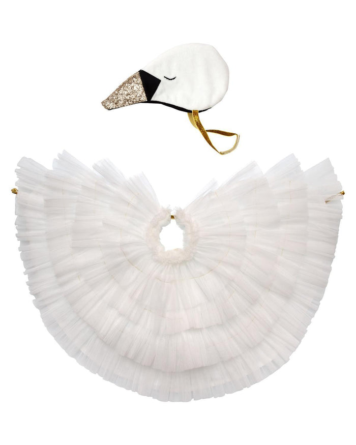 Little meri meri play swan cape dress up