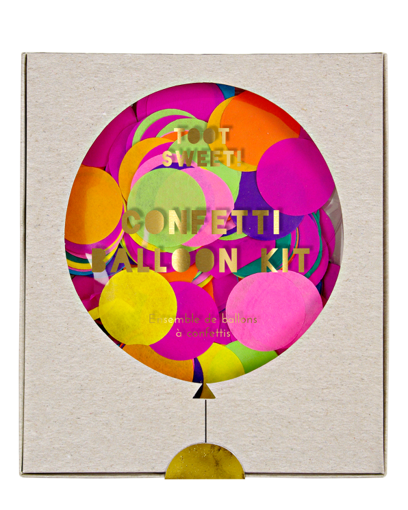 Little meri meri paper+party Toot Sweet Confetti Balloon Kit