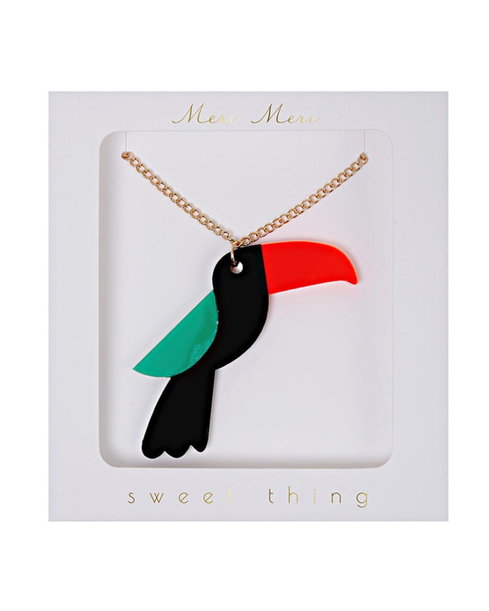 Little meri meri accessories Toucan Necklace