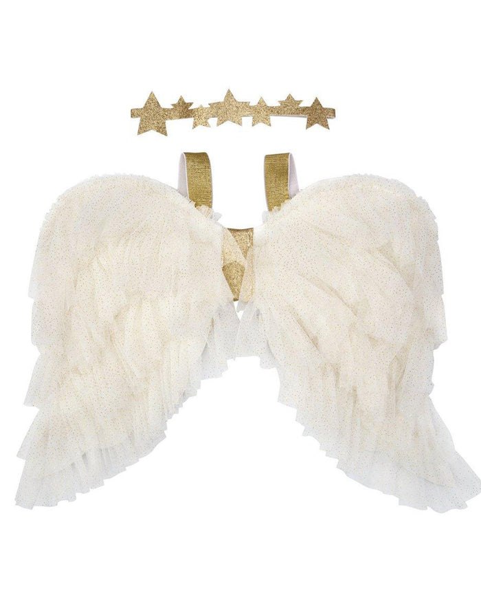 Little meri meri play tulle angel wings dress up kit