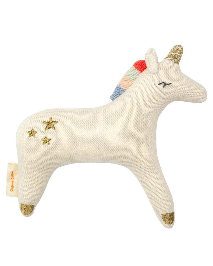 Little meri meri baby accessories unicorn baby rattle