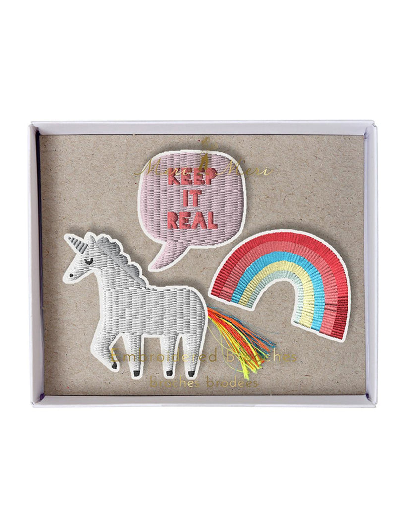 Little meri meri accessories Unicorn Brooches