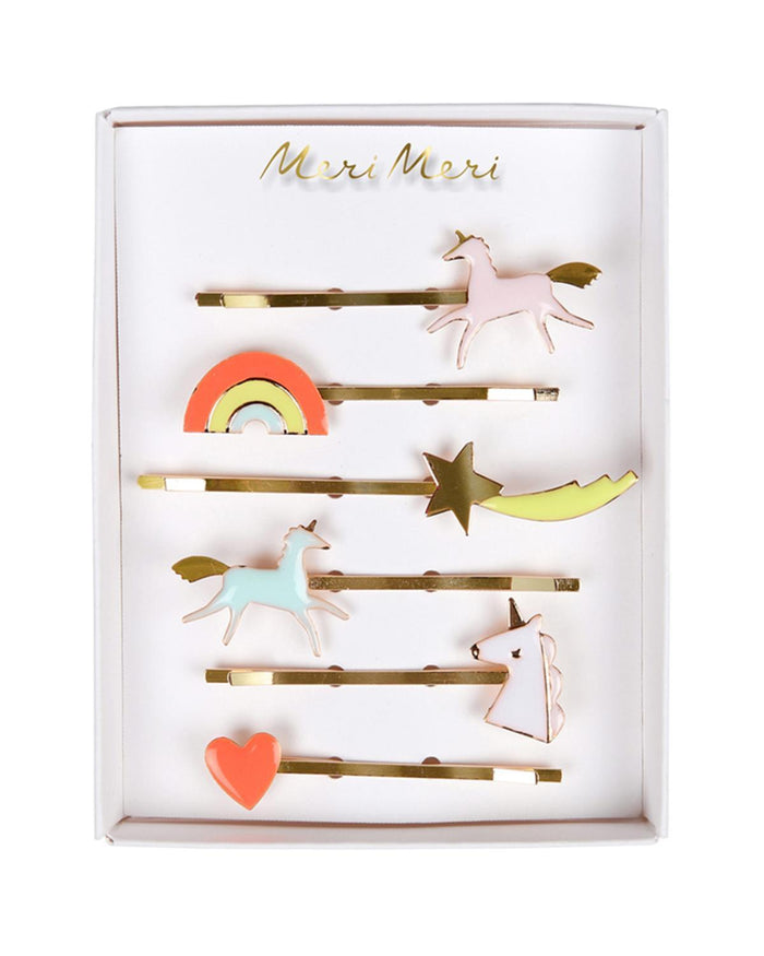 Little meri meri accessories unicorn hair pins
