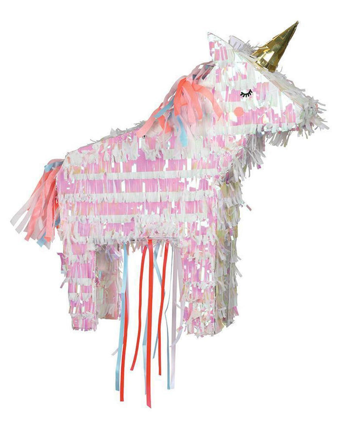 Little meri meri paper+party unicorn piñata