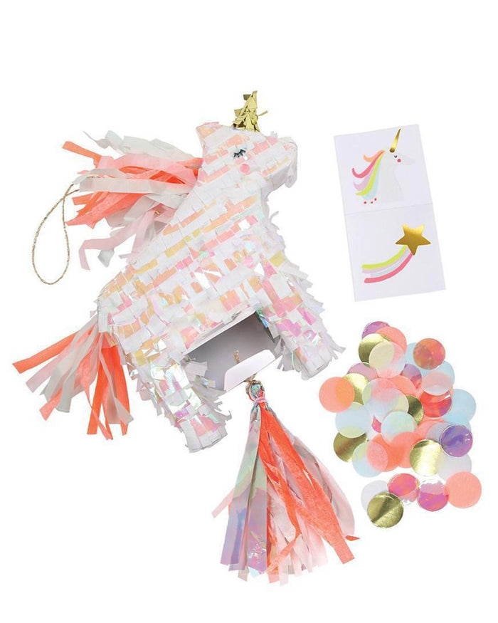 Little meri meri paper+party unicorn piñata party favor