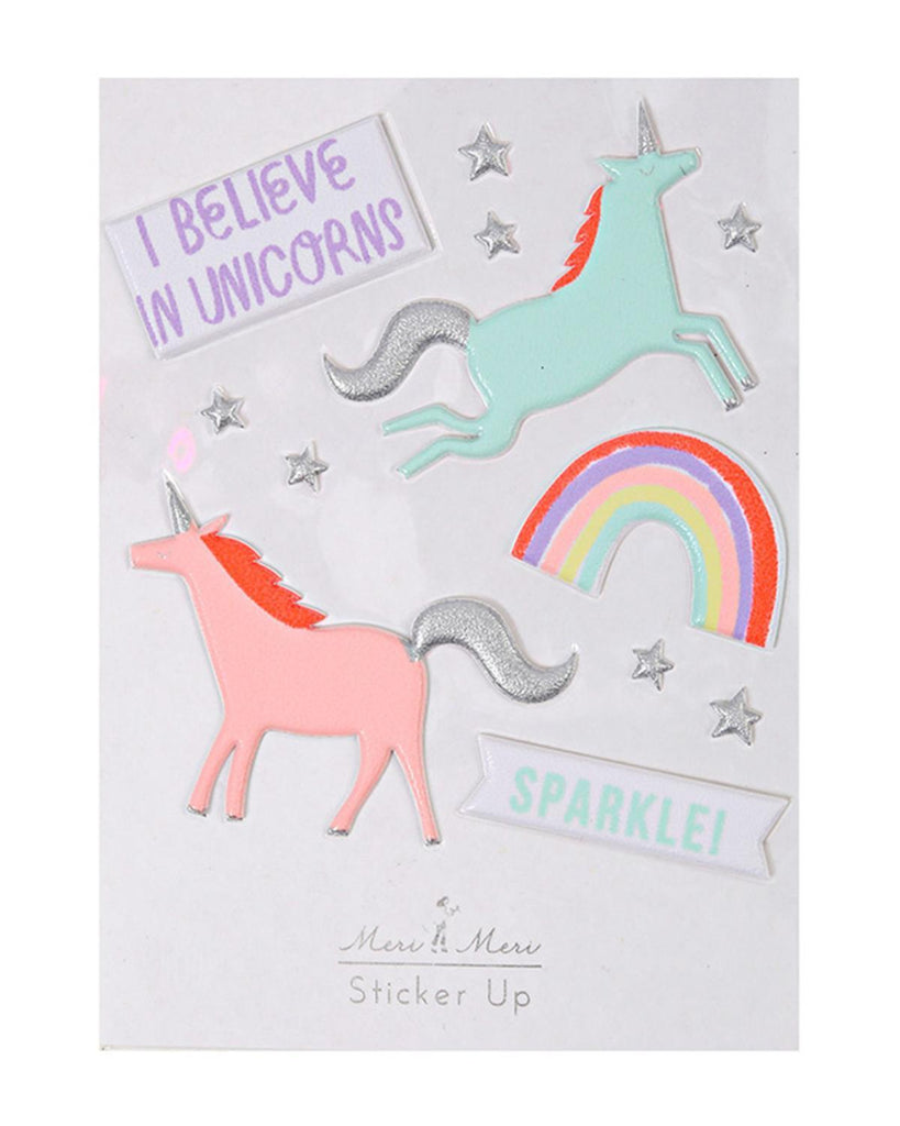 Little meri meri paper+party Unicorns Stickers
