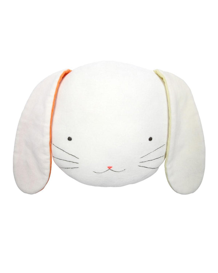 Little meri meri room velvet bunny cushion