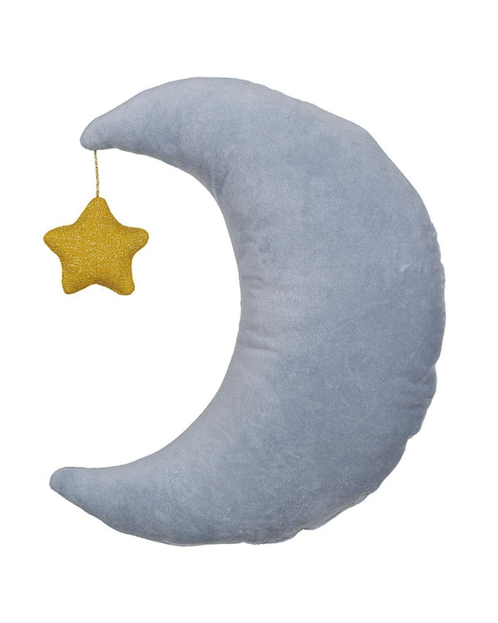 Little meri meri room Velvet Moon Cushion
