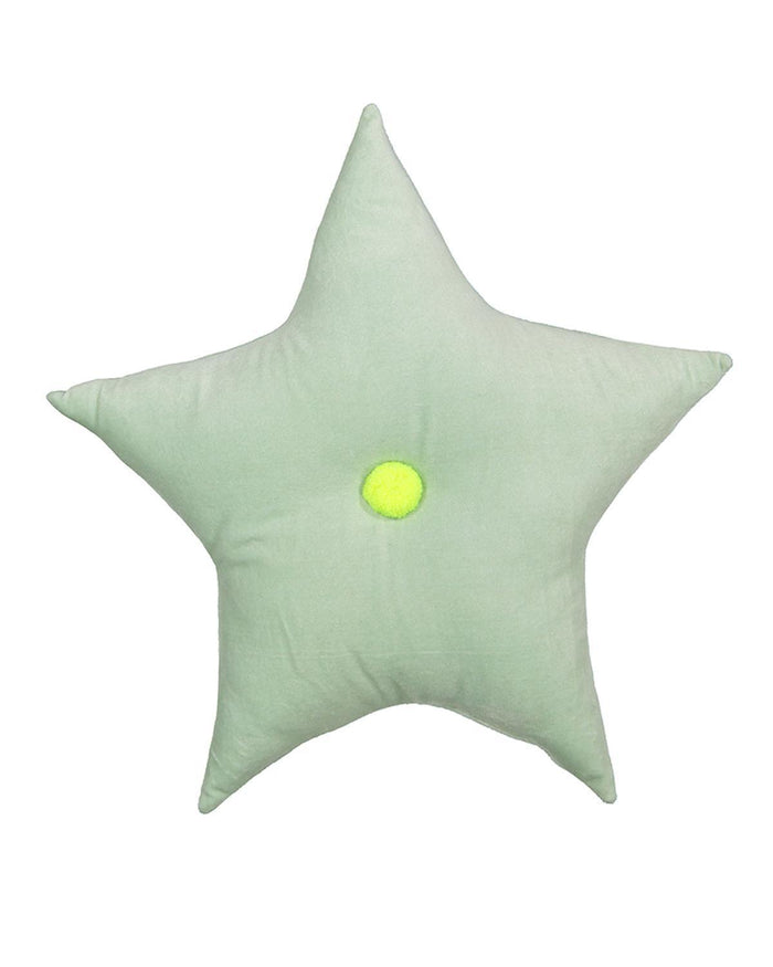Little meri meri room Velvet Star Cushion