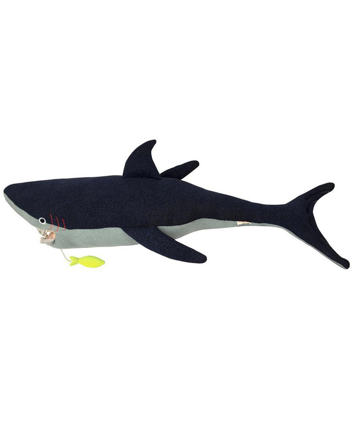 Little meri meri play vinnie the shark toy