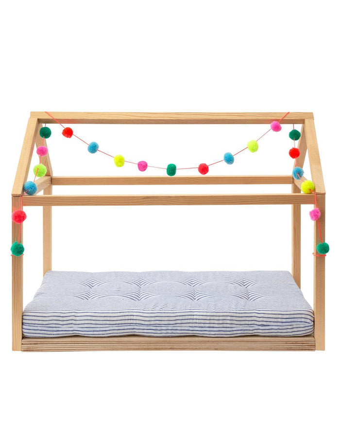 Little meri meri play wooden doll bed accessory