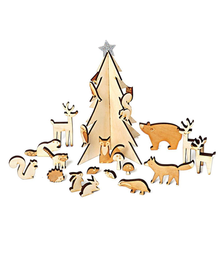 Little meri meri room Woodland Advent Calendar