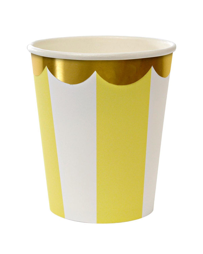 Little meri meri paper+party Yellow Party Cups