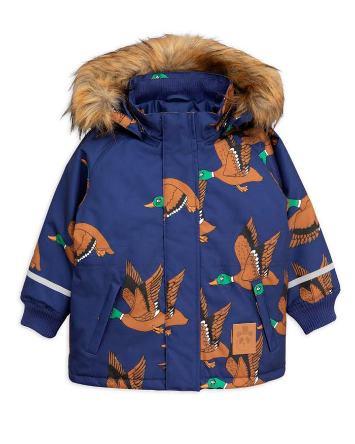 Little mini rodini boy 92/98 k2 ducks parka