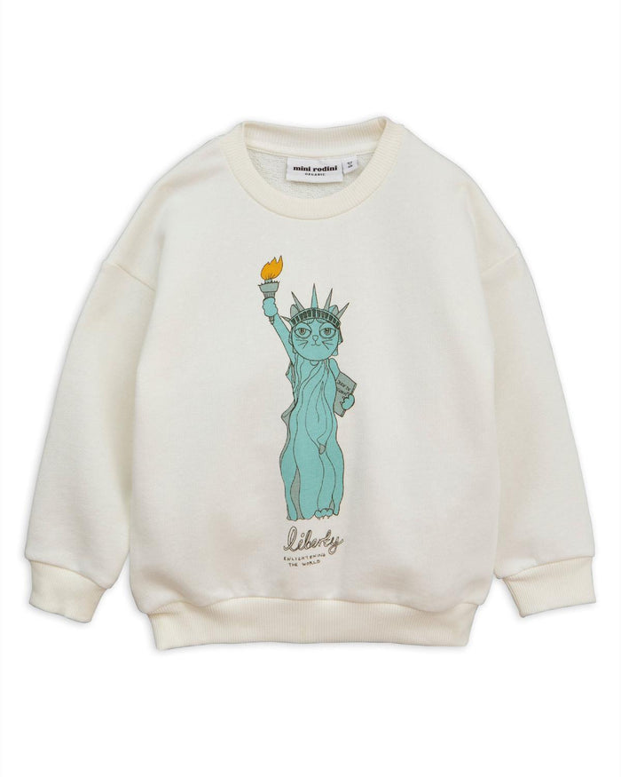 Little mini rodini girl 92/98 liberty sweatshirt