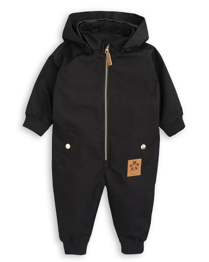 Little mini rodini baby boy 62 Pico Baby Overall in Black