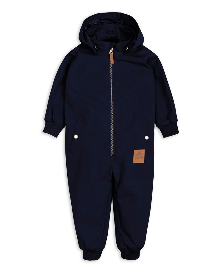 Little mini rodini baby boy 62 pico overall in navy