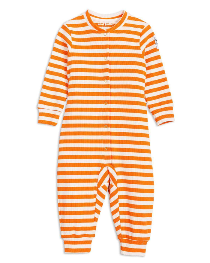 Little mini rodini baby boy 56/62 stripe rib jumpsuit