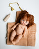 Little minikane play changing mat in moutarde + wooden bottle