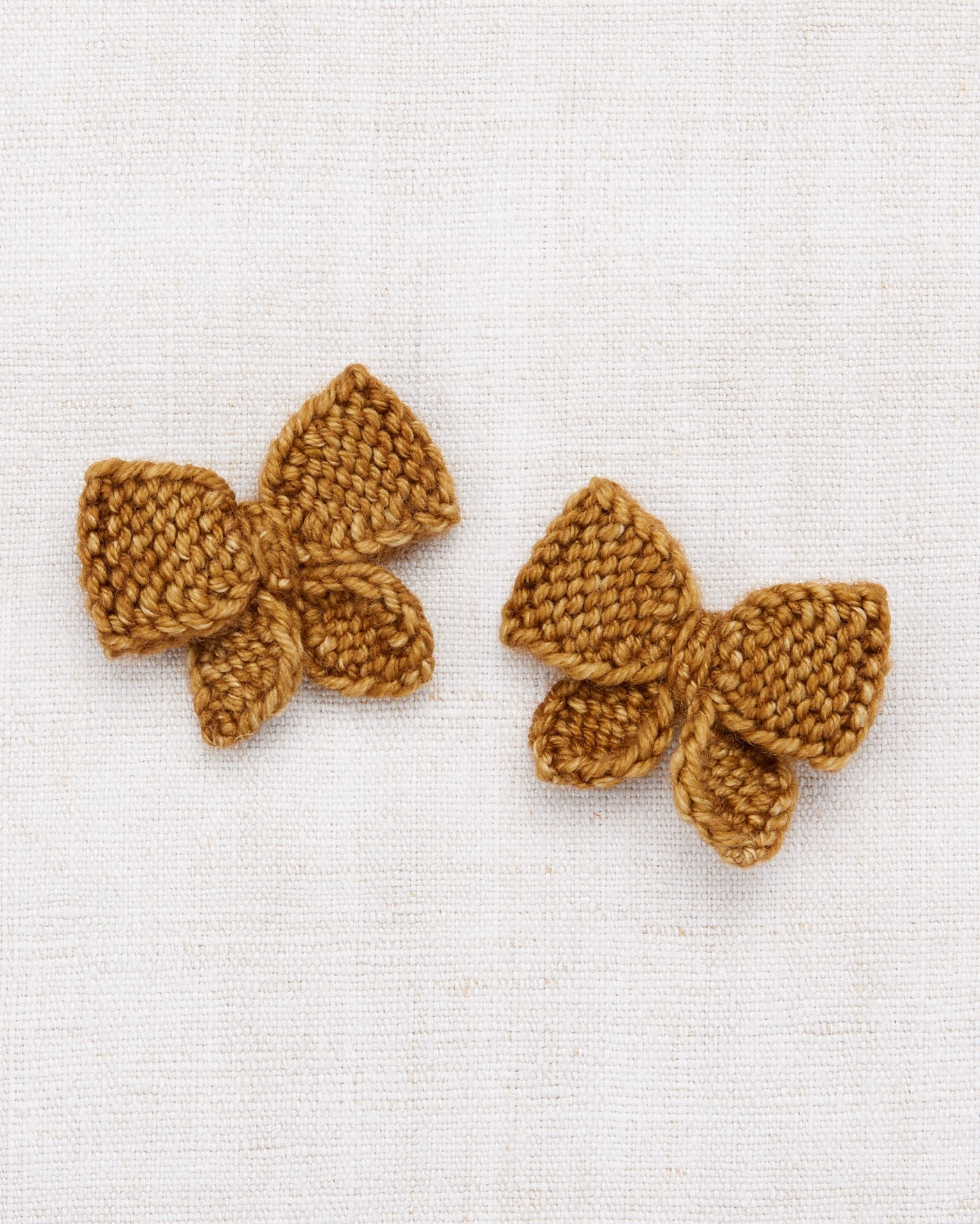 Little misha + puff accessories one size baby puff bow set in bronze