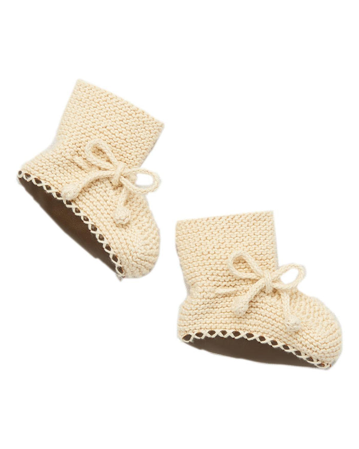 Little misha + puff baby accessories 0-6 day hike booties in string