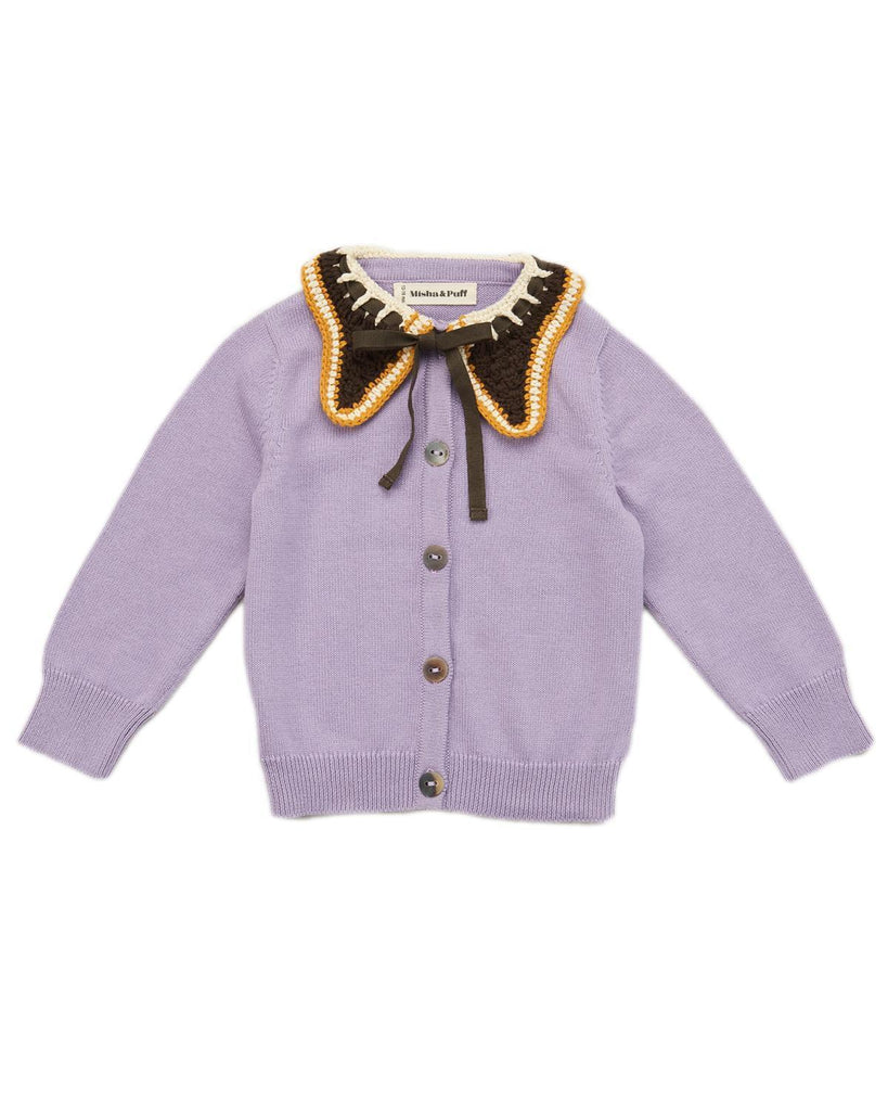 Little misha + puff girl 2-3 ellis cardigan