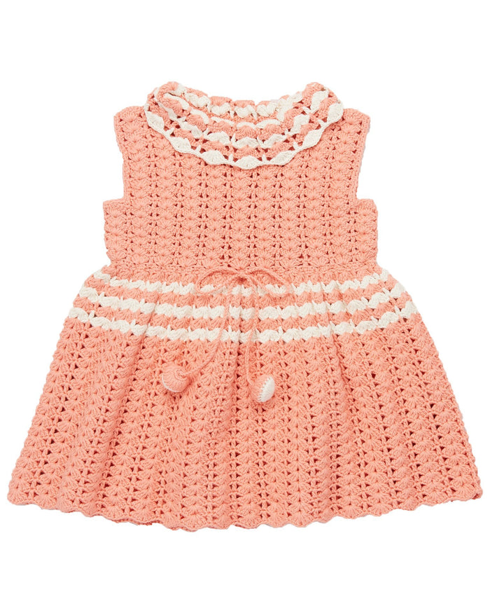 Little misha + puff girl ever dress in coral