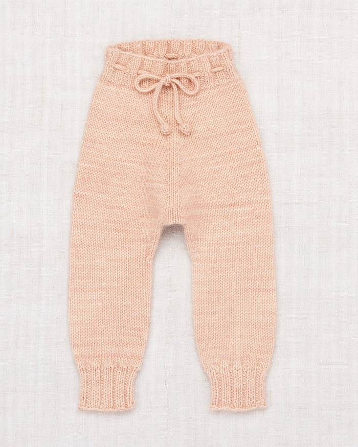 Little misha + puff layette layette snowy day leggings in faded rose