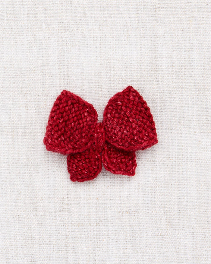 Little misha + puff accessories one size medium puff bow in berry