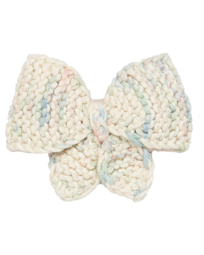 Little misha + puff accessories medium puff bow in faded space dye