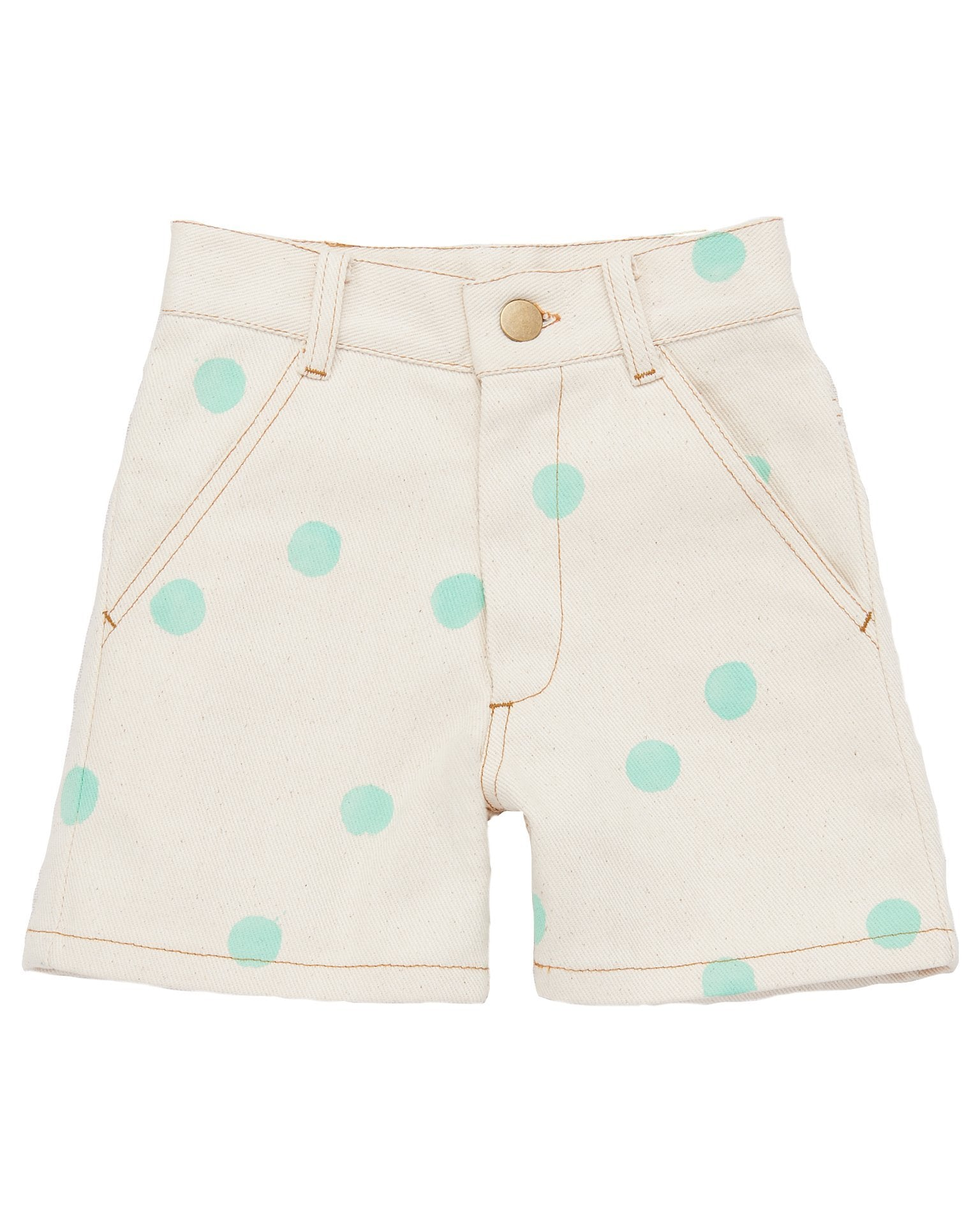 Little misha + puff boy one pocket short in natural