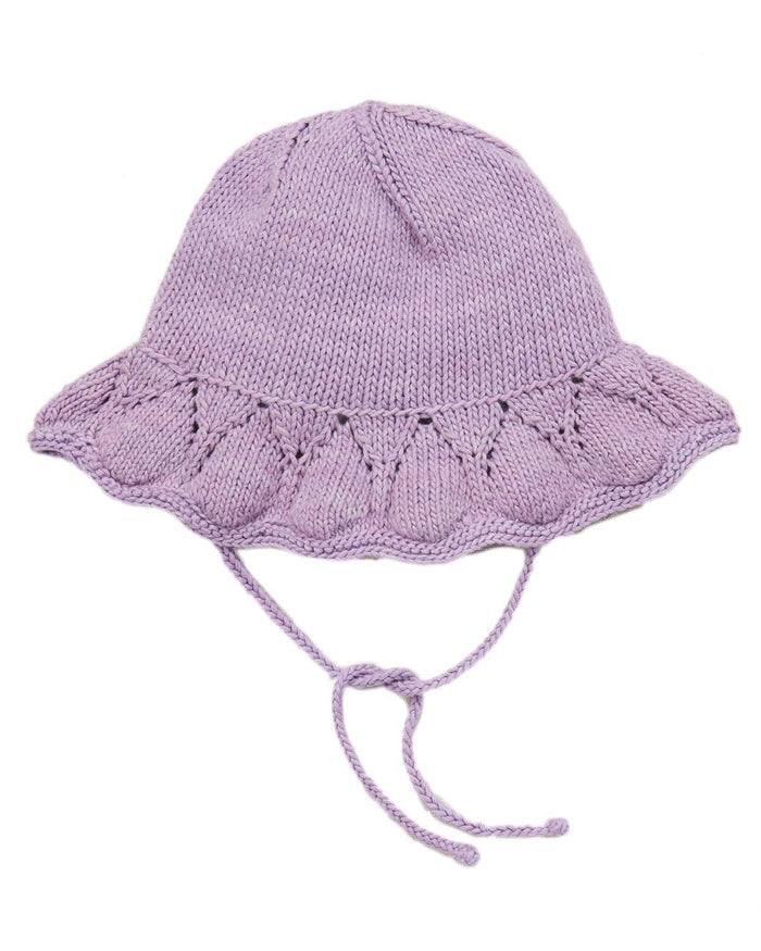 Little misha + puff baby accessories 0-6 starling sunhat in lavender