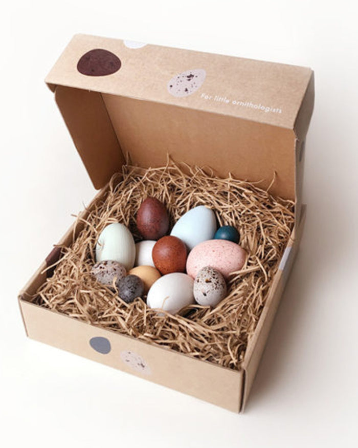 Little moon picnic play a dozen bird eggs in a box