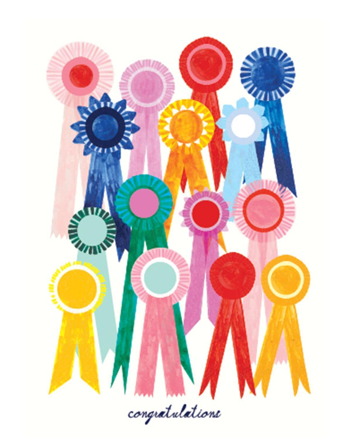 Little mr. boddington's studio paper+party first place ribbon card