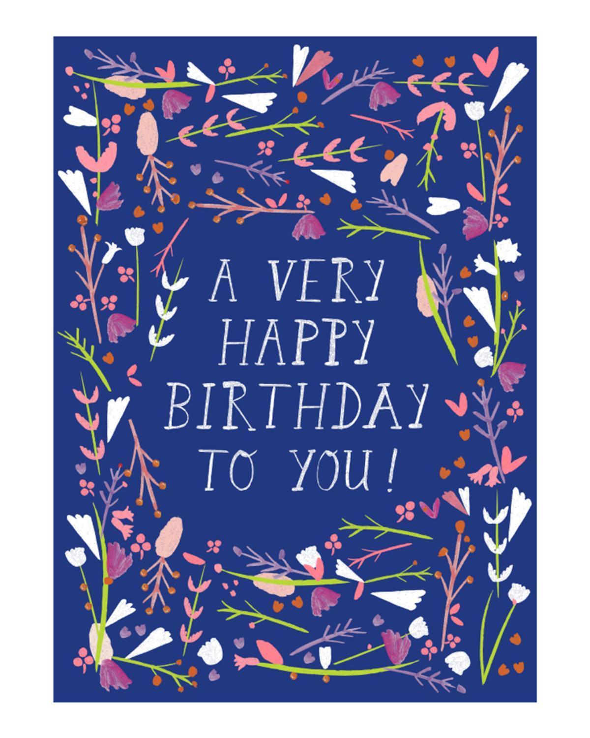 Little mr. boddington's studio paper+party happy b-day dear friend card