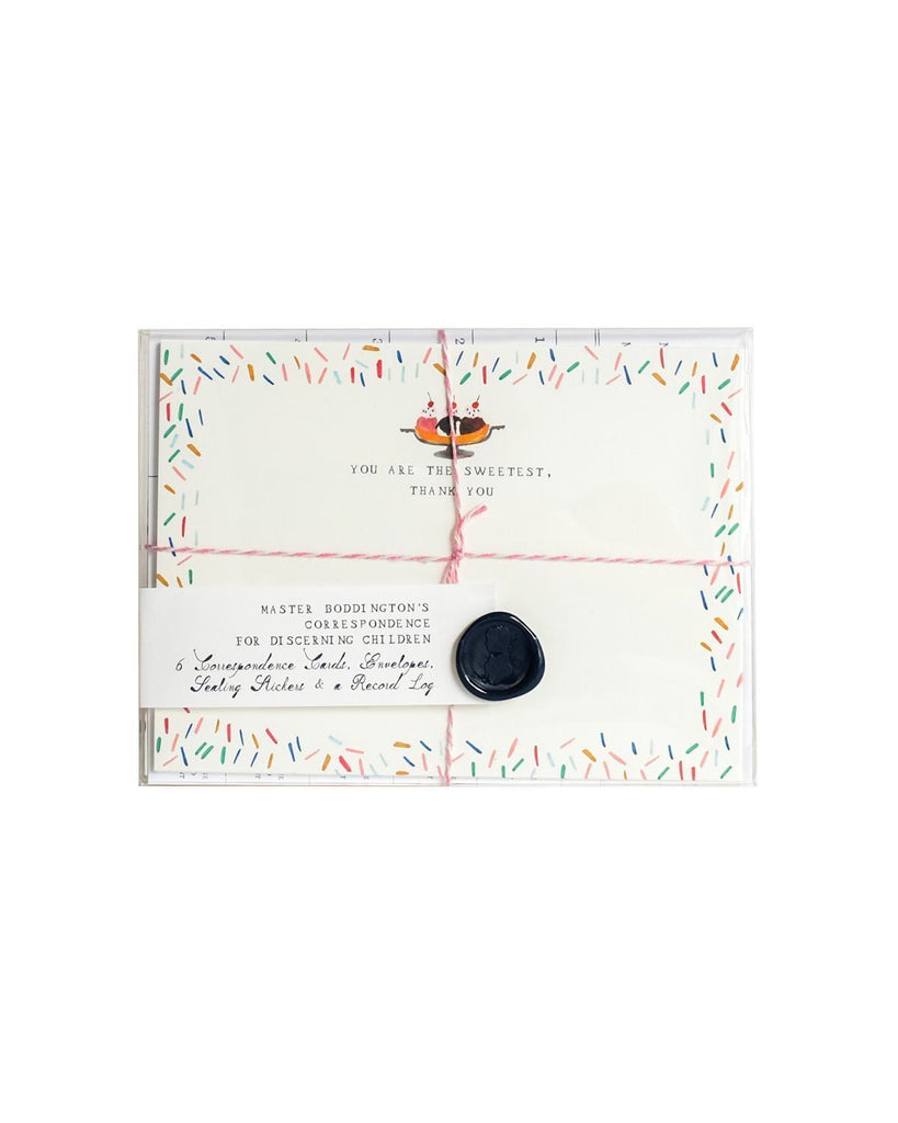 Little mr. boddington's studio paper+party Ice Cream Correspondence Set
